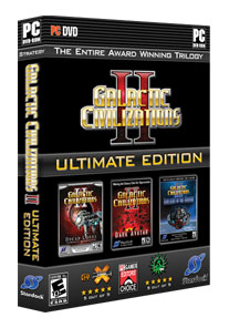Galactic Civilizations 2: Ultimate Edition Retail Box